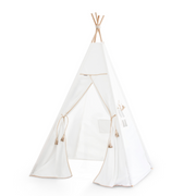 The Leatherette Teepee & Garland Set