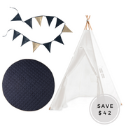 The Navy Blue Gift set
