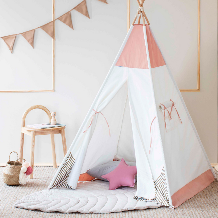 Kids Teepee Tent | Rose Pink