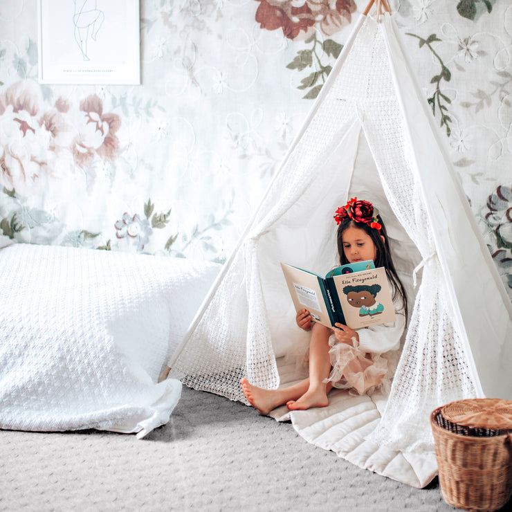 Kids Teepee Tent | Lace