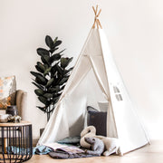 Kids Teepee Tent | White