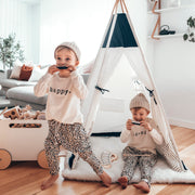 Kids Teepee Tent | Navy Blue