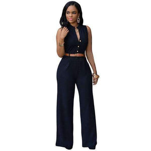 Women Sleeveless Maxi Belted Wide-Leg Jumpsuit-[product_tag]-My MALL Metro