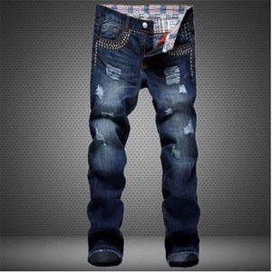 Mens Patch Hole Patched Jeans-[product_tag]-My MALL Metro