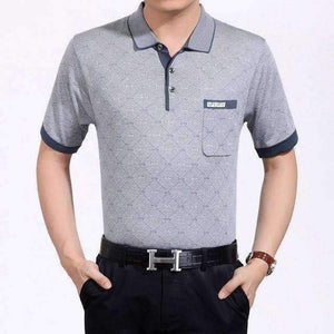 Mens Tennis Polo Shirt-My MALL Metro