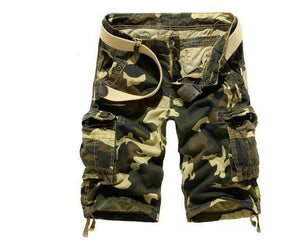 Loose Size Camouflage Cargo Shorts-[product_tag]-My MALL Metro