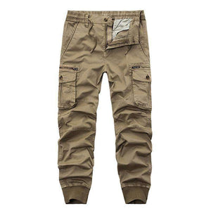 Top Brands Of Clothing And The New Mens Zipper Cargo Pants Loose Multi Pocket Camouflage Trousers Size 29-38