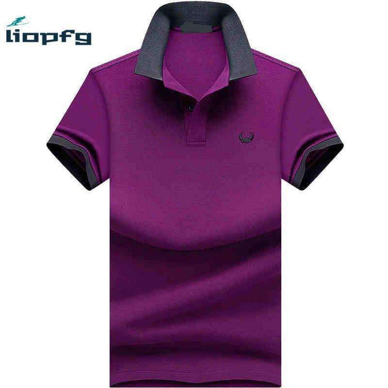 Brand Clothing New Men Polo Shirt Business & Casual Solid Male Short Sleeve Breathable Mk701