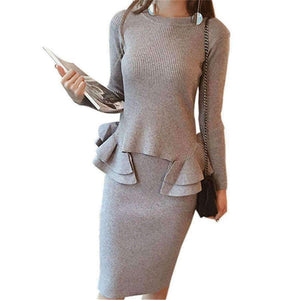 Womens Knitted Suit-[product_tag]-My MALL Metro