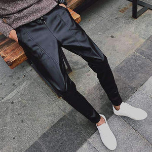 Mens Motorcycle Leather Pants-[product_tag]-My MALL Metro