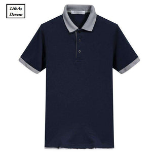 Brand New Mens Polo Shirt Men Cotton Short-Sleeve Sportspolo Jerseys Golftennis Plus Size 3Xl Camisa Polos Homme