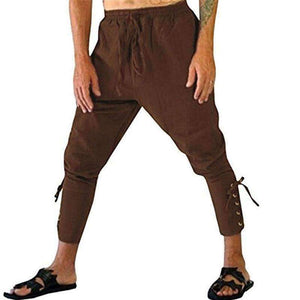 Mens Waist Drawstring Pants-[product_tag]-My MALL Metro