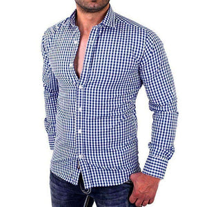 Mens Plaid Shirt-[product_tag]-My MALL Metro