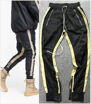 Lightweight Double Striped Track Pants-[product_tag]-My MALL Metro