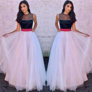 Womens Dress Long Lace Patch Ball Gown Formal Dress-[product_tag]-My MALL Metro