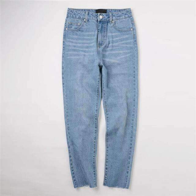 Womens Streetwear Hole Jeans-[product_tag]-My MALL Metro
