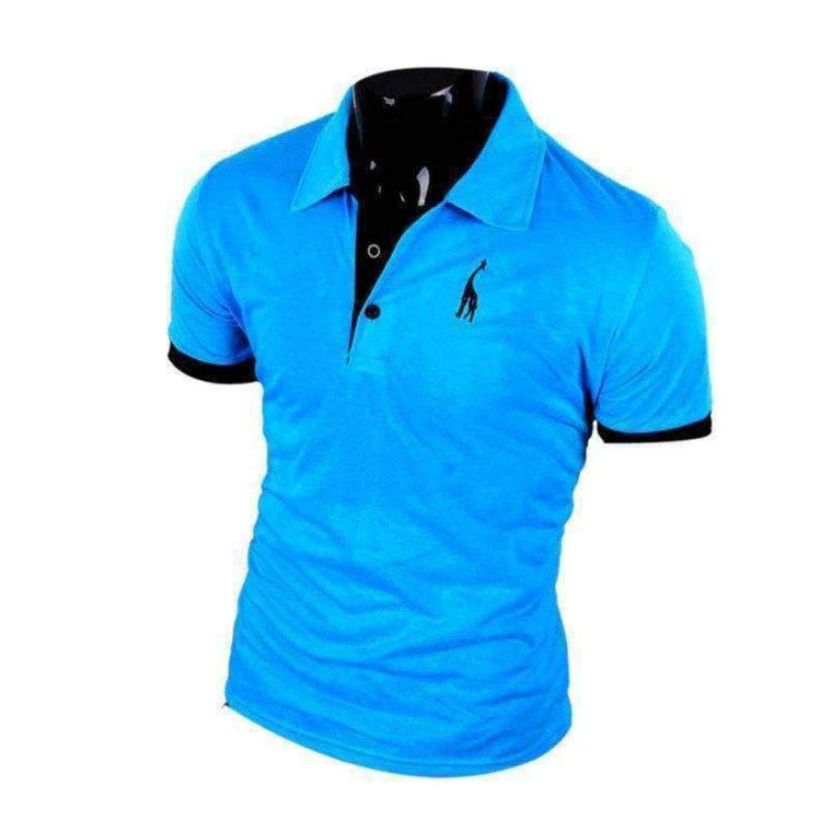 Style Big Size Polo Men Shirt Plus Xxxl Short Sleeve Classic Solid Slim Tops