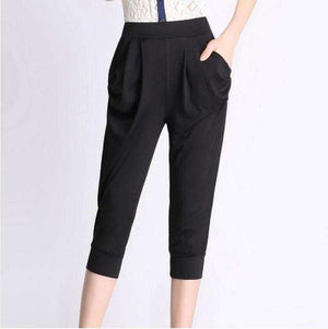 Woman Loose Waist Leggings-[product_tag]-My MALL Metro
