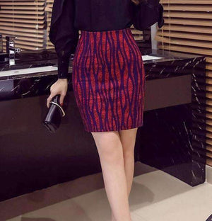 Woman Pencil Skirt-[product_tag]-My MALL Metro