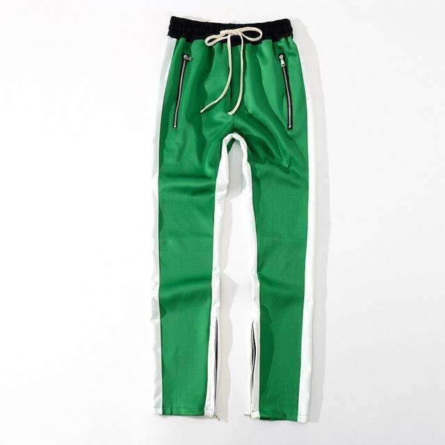 Mens Zipped Ankle Track Streetwear Pants-[product_tag]-My MALL Metro