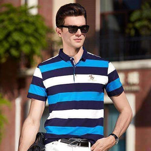 Mens 3D Embroidery Polo Shirts-[product_tag]-My MALL Metro