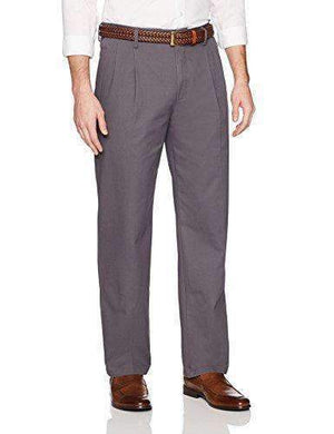Mens Wrinkle-Resistant Pleated Chino Pants-[product_tag]-My MALL Metro