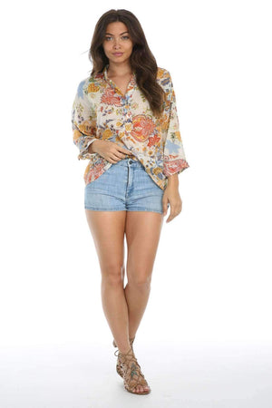 Henley Blouse-[product_tag]-My MALL Metro