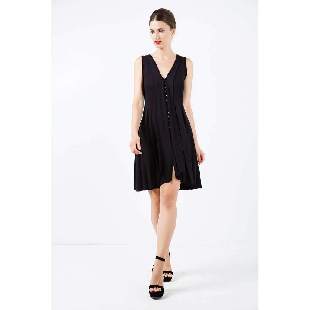 A-Line Sleeveless Jersey Dress-[product_tag]-My MALL Metro