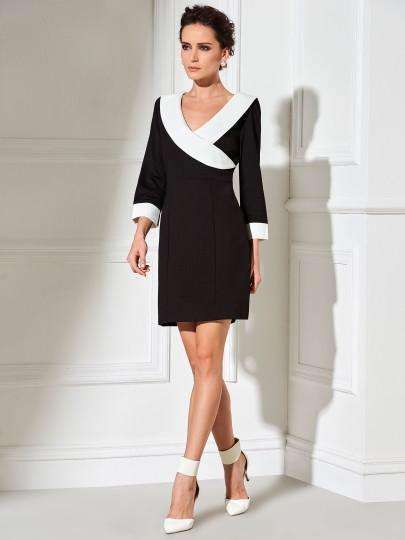 3/4-Sleeve Womens Bodycon Dress-[product_tag]-My MALL Metro