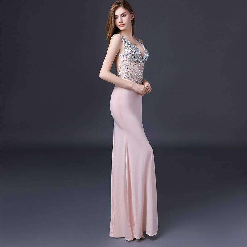Womens Backless Bodycon Womens Maxi Long Dress-[product_tag]-My MALL Metro