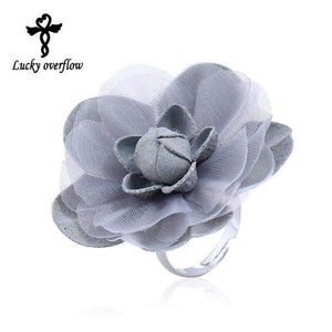 Womens Flower Ring-[product_tag]-My MALL Metro