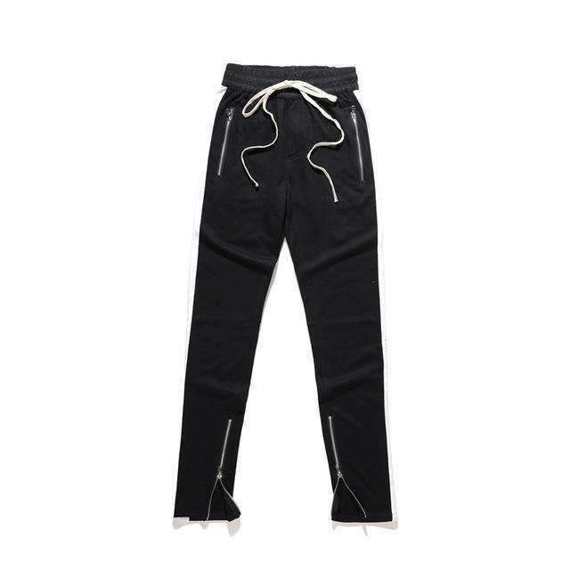 Mens Zipper Pocket Ankle Zip Track Pants-[product_tag]-My MALL Metro