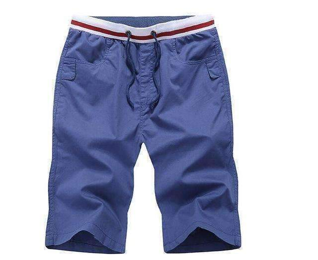 Mens Shorts Men Casual Homme Cotton Short Pants Male Beach Solid Color Price