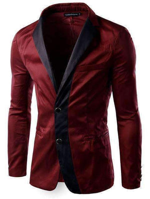 Mens Suit Jacket Mens Suit Blazer-[product_tag]-My MALL Metro