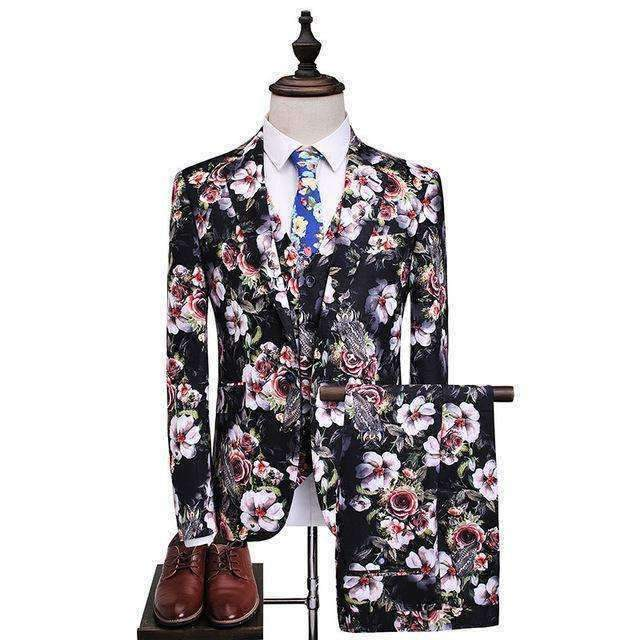 Mens Suit Mens Slim Fit Coat 3Piece-[product_tag]-My MALL Metro
