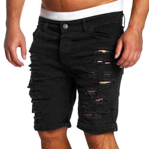 Mens Ripped-Hole Denim Jeans-[product_tag]-My MALL Metro
