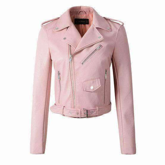 Womens Faux-Leather Jackets-[product_tag]-My MALL Metro