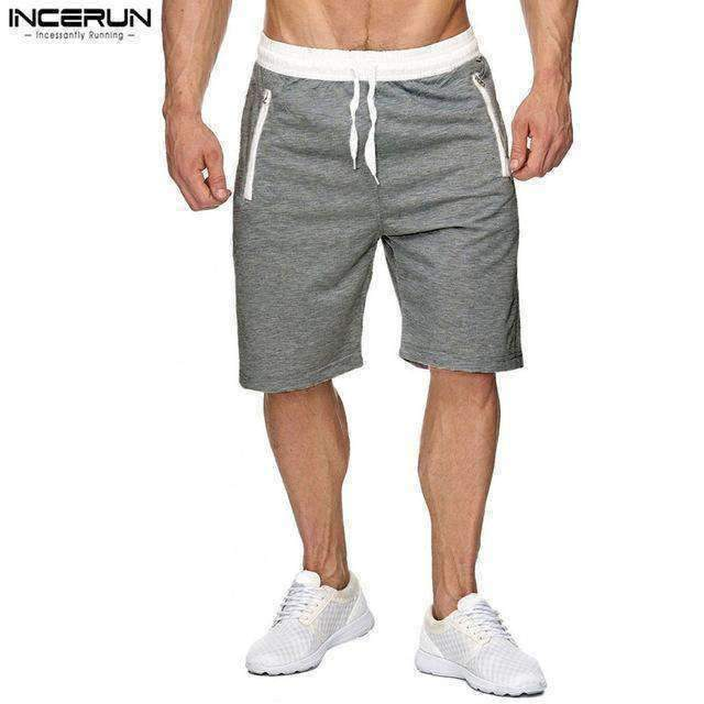 Shorts Men Summer Sportswear Casual Fashion Sweatpants Knee Length Joggers Short Trousers Bermuda Male 2018 Brand New