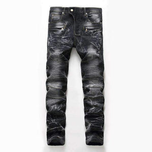 Mens slim skinny Destroyed Trousers-[product_tag]-My MALL Metro