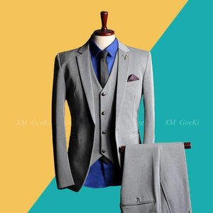 Mens 3 Pieces Blazer Suit-[product_tag]-My MALL Metro