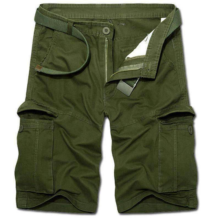 4 Colors Plus Size 2017 Man Summer Casual Cargo Shorts Army Combat Camo Shorts Male Solid High Quality Straight Army Green,,[shop name]