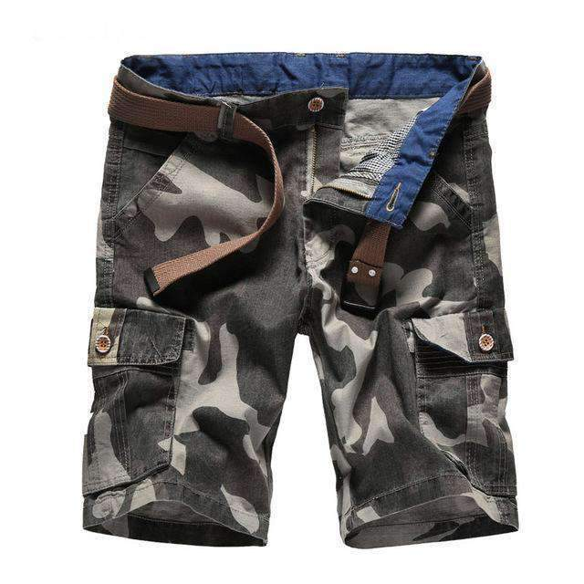 2017 AKing ACE Men's Camouflage Cargo shorts for man army mens camo shorts Baggy fashion plead brand short pants men ,ZA333,,[shop name]