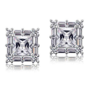 2Carat Cut Simulated 925-Silver Earrings-[product_tag]-My MALL Metro