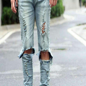 Mens Light Ripped Skinny Distressed Destroyed Pants-[product_tag]-My MALL Metro