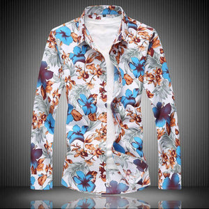 Mens Flower Shirts-[product_tag]-My MALL Metro