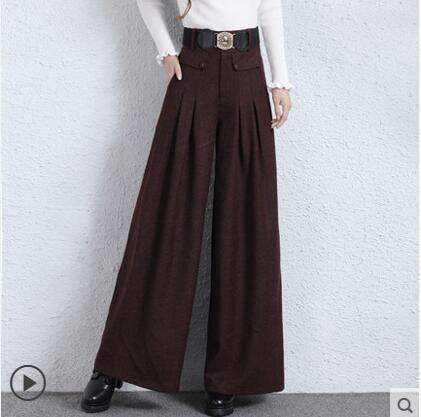 Plus-Size loose Womens wide-leg pants trousers-[product_tag]-My MALL Metro