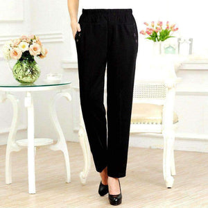 Plus-Size Womens pants elastic pants trousers-[product_tag]-My MALL Metro