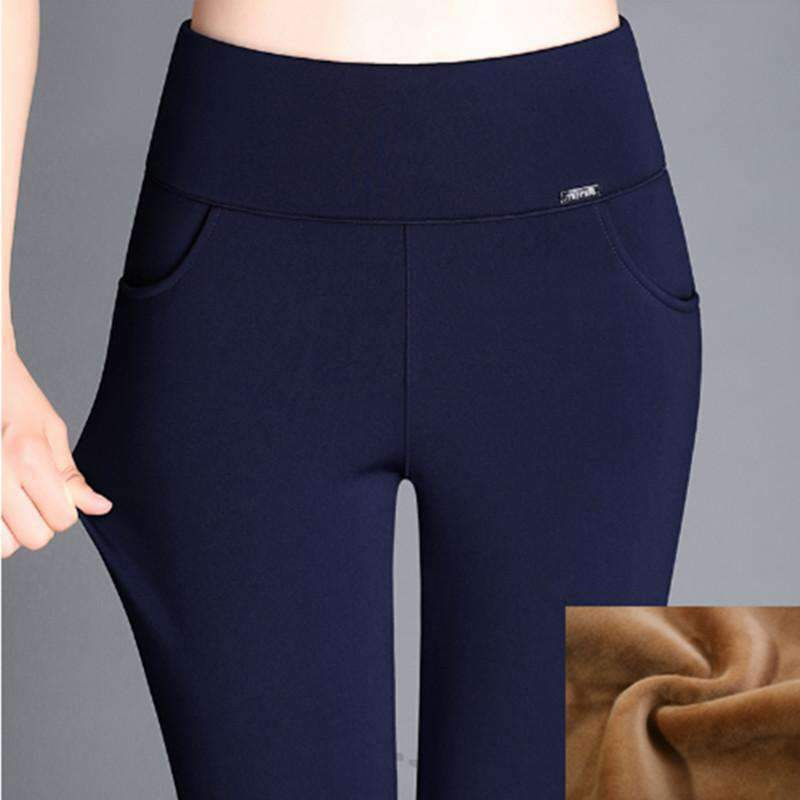 Womens Pants Plus-Size Velvet Pants-[product_tag]-My MALL Metro