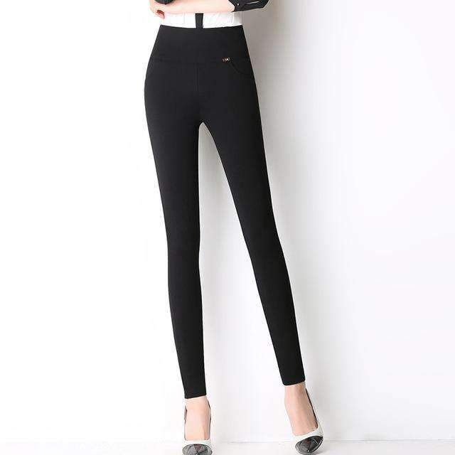 Womens Plus-Size Skinny pencil pants-[product_tag]-My MALL Metro