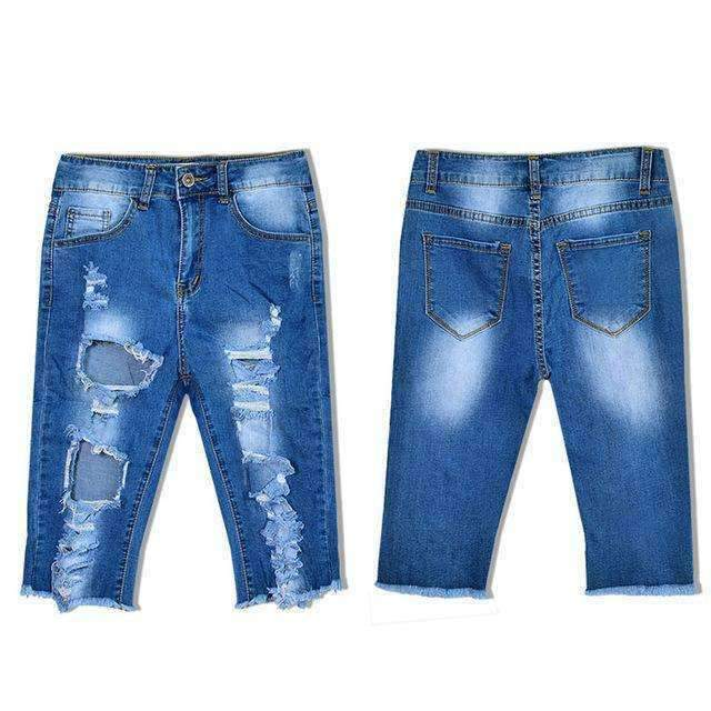 Streetwear Ripped Jeans-[product_tag]-My MALL Metro